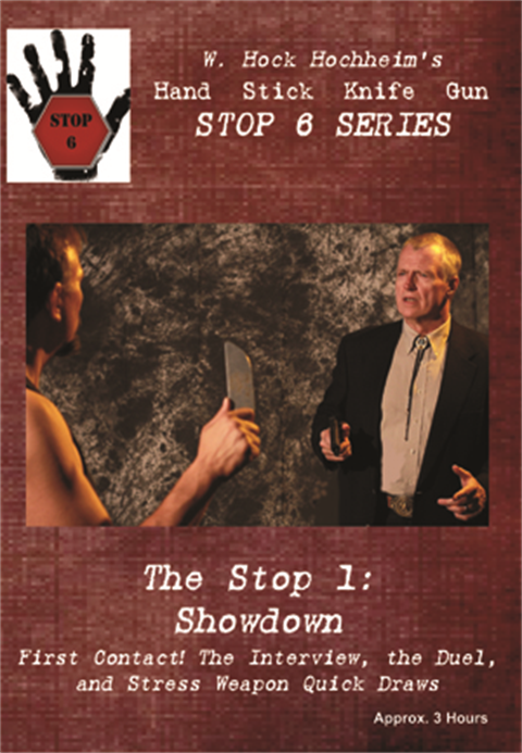 Hock Hochheim - Stop 1 of the Stop 6 Series - First Contact in a Fight - 1 of 3