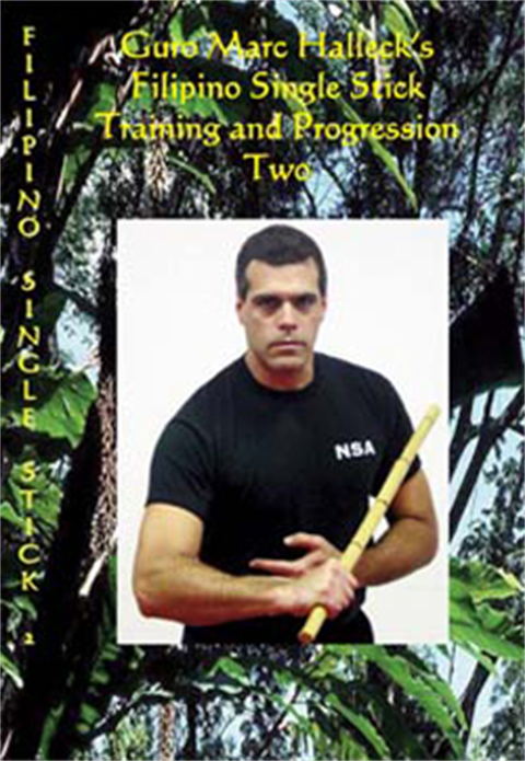 Marc Halleck - Silat Single Stick Combat 2