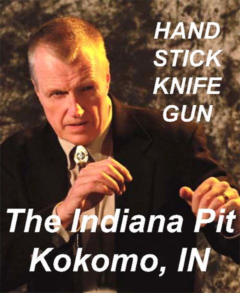 10/20-21/2018 - Oct 27, 28, 2018 - Hock's Force Necessary Hand, Stick, Knife, Gun Training, Kokomo/Indianapolis, IN
