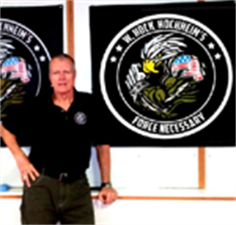 Wall Banner! Force Necessary Eagle Banner