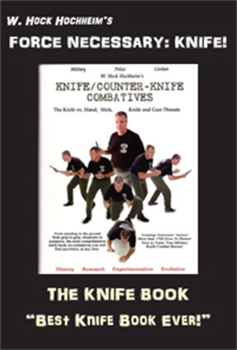 Knife Counter Knife Combat Book by W. Hock Hochheim