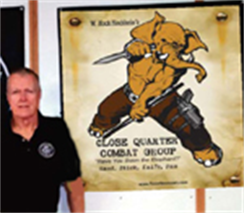 Wall Banner! The Fightin' Elephant CQC Group logo