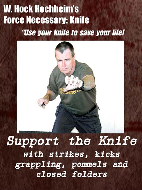 Knife 02- Support the Knife with Strikes, Kicks and Grappling